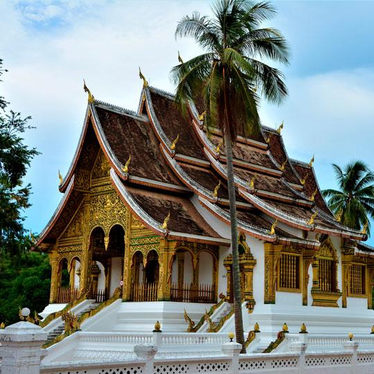 Перелет Laos